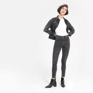 NWT Everlane Washed Black High-Rise Skinny Jean